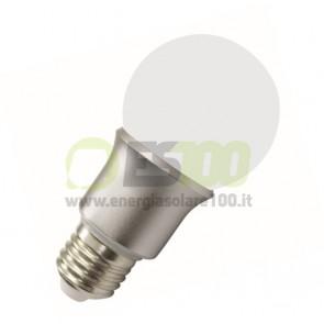 Lampada LED SMD a bulboin Vetro 5W 230V luce naturale 4500K E27