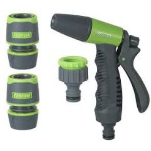 kit d'irrigazione kit pistola con raccordi e  presa rubinetto