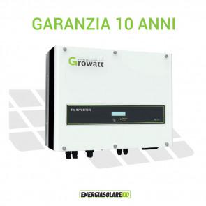 Inverter trifase di Connessione a Rete Growatt 5000TL3-S 5000W Certificato CEI 0-21
