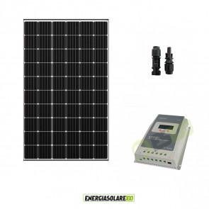 Kit Starter 12V Pannello Solare Fotovoltaico 300W + Regolatore di carica 30A MPPT