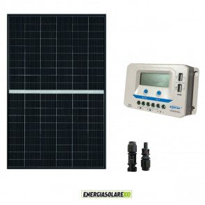 Kit Solare Fotovoltaico 340W 24V Regolatore PWM 20A VS2024AU Baita Chalet