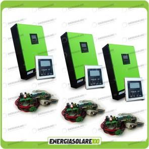 Kit Inverter Trifase GENIUS 15000VA 12000W 48V + Regolatore di Carica 9000W PWM
