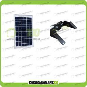 Kit Supporto Pannello Solare 5W 12V EJ Supporto Testapalo