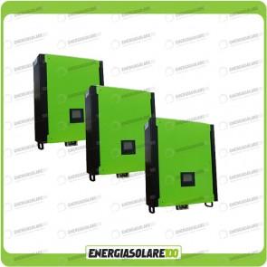 Kit Inverter Trifase INFINITY 30000VA 30000W 48V + Regolatore di Carica 45Kw MPPT 900Voc