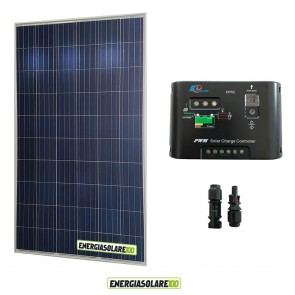 Kit Starter Pannello Solare HF 250W 24V  Regolatore PWM 10A EP10