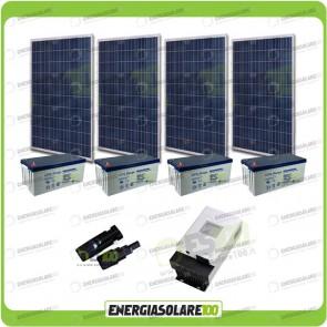 Kit Solare 1080W alimentazione Video Sorveglianza 12volt per DVR e 20 Telecamera 24h al giorno