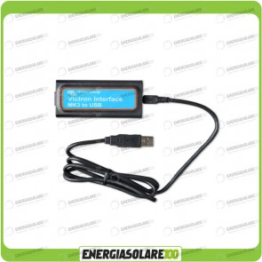 Interfaccia VE MK3-USB Victron Energy per Inverter Multi, Multiplus, Quattro