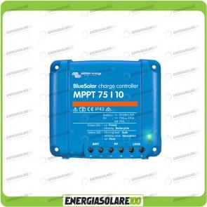 Regolatore di Carica BlueSolar MPPT 75/10 10A 12-24V Victron Energy