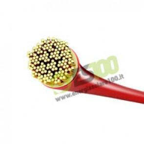 Cavo elettrico con guaina in PVC da 6 mmq Rosso