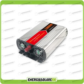 Inverter 1000W 12V onda modificata camper auto barca (Inverter off-grid)