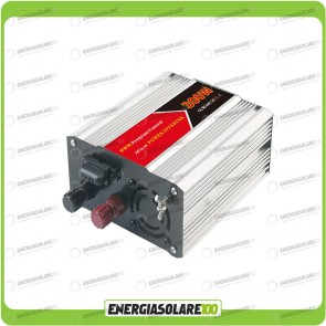 Inverter 300W 12V onda modificata camper auto barca (Inverter off-grid)