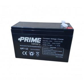 Batteria ermetica piombo AGM 7Ah 12V gruppo continuità UPS allarme antifurto