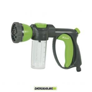 Pistola da irrigazione con serbatoio Multigetto