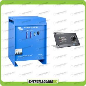 Kit Caricabatteria Trifase Skylla TG 24V 100A Victron Energy per batteria al piombo con pannello di controllo