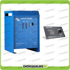 Kit Caricabatteria Skylla TG 24V 30A Victron Energy Certificato GL con pannello di controllo