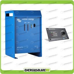 Kit Caricabatteria Skylla TG 24V 50A Victron Energy per batteria al piombo con pannello di controllo