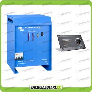 Kit Caricabatteria Skylla TG 24V 50A Victron Energy Certificato GL con pannello di controllo