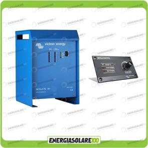 Kit Caricabatteria Skylla TG 24V 80A Victron Energy per batteria al piombo con pannello di controllo