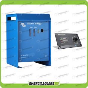 Kit Caricabatteria Skylla TG 24V 100A Victron Energy per batteria al piombo con pannello di controllo