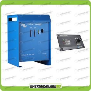 Kit Caricabatteria Skylla TG 24V 100A Victron Energy Certificato GL con pannello di controllo