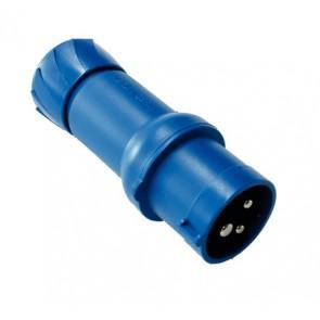 Spina blu maschio CEE 230V - R422