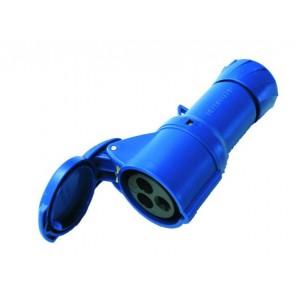 Presa blu CEE 230V volante - R522