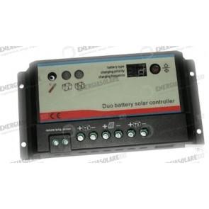 Regolatore di carica REGDUO (doppio batteria) 20A 12-24V CAMPER