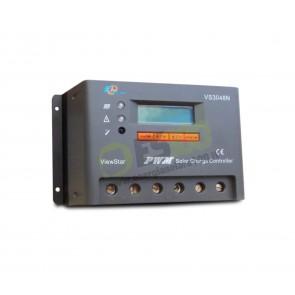 Regolatore di Carica RES30 30A 12/24/48V per pannelli fotovoltaici