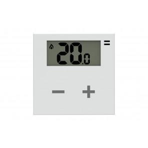 Rialto Termostato aggiuntivo touch wireless con display a batterie ZED-TTR2-RI