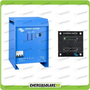 Kit Caricabatteria Trifase Skylla TG 24V 100A Victron Energy per batteria al piombo con interruttore remoto
