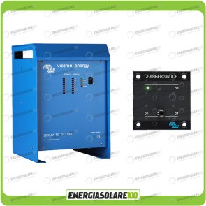 Kit caricabatteria Skylla TG 24V 100A Victron Energy Certificato GL con interruttore remoto