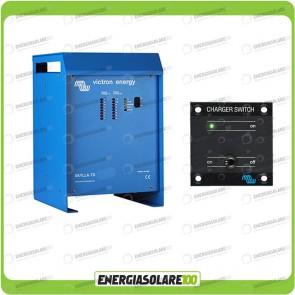 Kit Caricabatteria Skylla TG 48V 50A Victron Energy per batteria al piombo con interruttore remoto