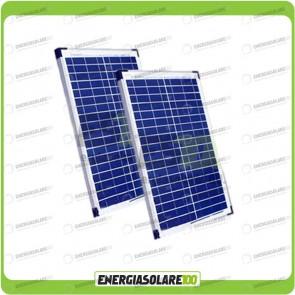 Stock 2 Pannelli Solari 20W 12V
