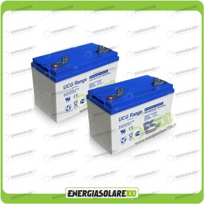 Stock 2 Batterie UCG100 2112Wh