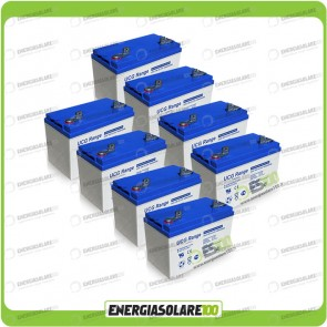 Stock 8 Batterie UCG100 8448Wh
