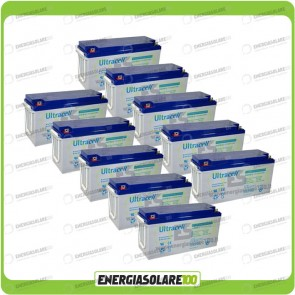 Stock 10 Batterie UCG150 15.792,00Wh