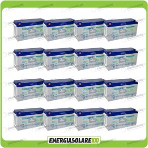 Stock 16 Batterie UCG150 28.800,00Wh