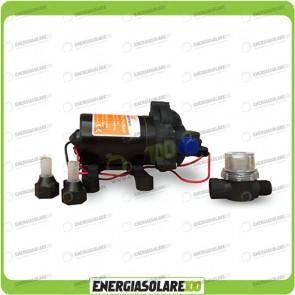 Pompa Autoclave 24V 4.2 BAR 18.9 l/min Autoadescante Serie SF