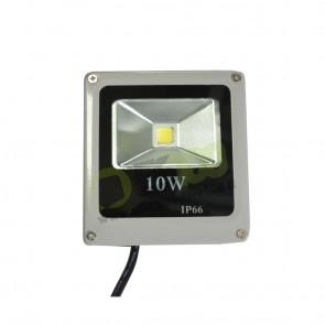Faro LED Slim 10W 230V a Luce Fredda in Alluminio IP66