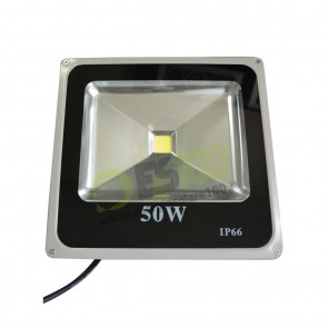 Faro LED Slim 50W 230V a Luce Fredda in Alluminio IP66