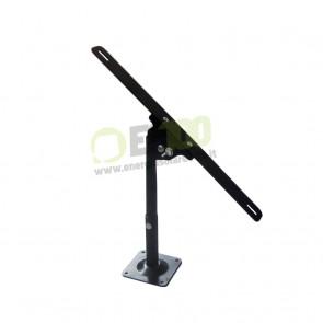 Supporto fissaggio da parete per pannello solare fotovoltaico 5-10-20-30W regolabile