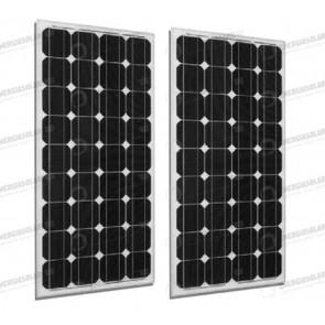 Set 2 x Pannelli Solari Fotovoltaico 300W Europeo 24V tot. 600W Casa Baita Stand-Alone