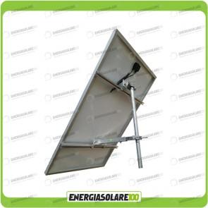 Supporto di fissaggio testapalo per pannelli solari fotovoltaici da 190W a 300W fisso 45°