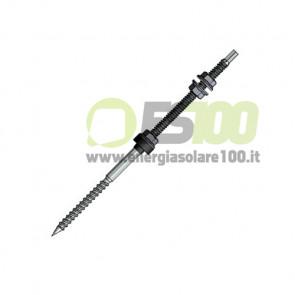 Vite Autofilettante Inox Doppio Filetto TL022.M10.180 per Legno 180mm