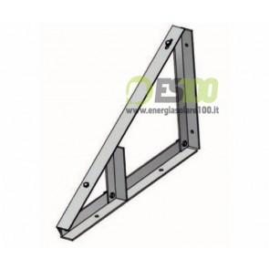 Supporto Triangolare Fisso a 30° senza Zavorra TL085
