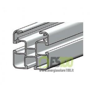 Profilo in Alluminio Longherone 45x45mm Barra da 3.15mt