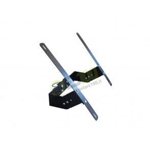 Supporto Testapalo e fissaggio a muro per Pannelli Solari 10W 20W 30W