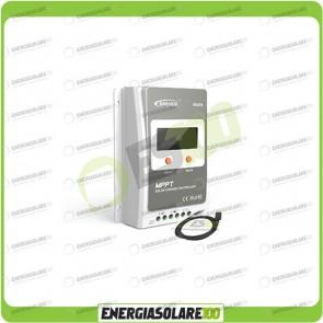 Kit Regolatore di Carica Epsolar Tracer Serie A 40A 12-24V 100Voc con Cavo USB-RS485