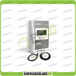 Kit Regolatore di Carica Epsolar Tracer Serie A 10A 12-24V 100Voc con Cavo USB-RS485 e Sensore di Temperatura (Kit Regolatore di Carica)