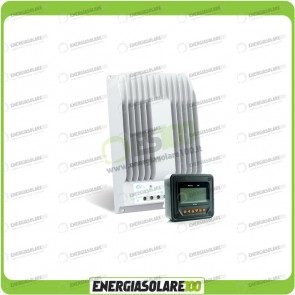 Kit Regolatore di Carica Epsolar Tracer Serie BN 20A 12-24V 150Voc con Display MT-50